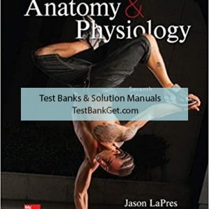 Test Bank ( Complete Download ) for Essentials Of Anatomy And Physiology | 7th Edition | Jason LaPres | Beth Ann Kersten | ISBN: 9781260400984