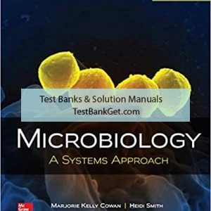 Test Bank ( Complete Download ) for Microbiology A Systems Approach | 5th Edition | Marjorie Kelly Cowan | ISBN: 9781259706615