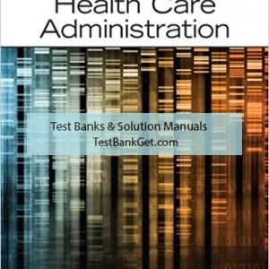 Test Bank ( Complete Download ) For Fundamentals Of Health Care Administration | 1st Edition | Shelley C. Safian | ISBN: 9780133065633