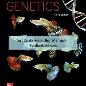 Test Bank ( Complete Download ) for Concepts Of Genetics   3rd Edition   Rob Brooker   ISBN: 9781259879906