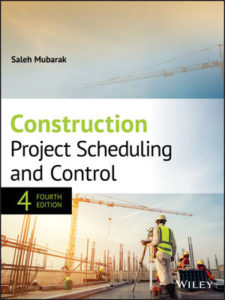 Solution Manual ( Complete only ) For Construction Project Scheduling and Control   4th Edition   Saleh A. Mubarak
