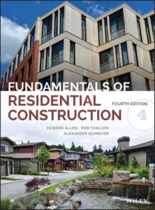 Solution Manual ( Complete Download ) Fundamentals of Residential Construction   4th Edition   Edward Allen   Rob Thallon   Alexander C. Schreyer