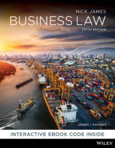 Test Bank ( Download only )For Business Law | 5th Edition | Nickolas James | Timothy Thomas