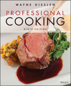 Test Bank ( Download only ) For Professional Cooking   9th Edition   Wayne Gisslen