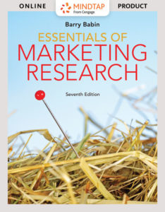 Solution Manual ( Complete Download ) for Essentials of Marketing Research | 7th Edition | Barry J. Babin | ISBN-10: 1337693669 | ISBN-13: 9781337693660