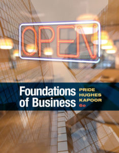 Test Bank ( Complete Download ) for Foundations of Business | 6th Edition | William M. Pride | Robert J. Hughes | Jack R. Kapoor | ISBN-10: 1337386979 | ISBN-13: 9781337386975
