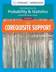Test Bank ( Complete Download) for Introduction to Probability and Statistics | 15th Edition | William Mendenhall | Robert J. Beaver, Barbara M. Beaver