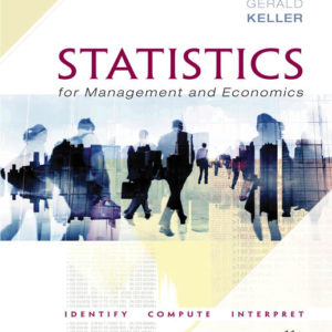 Solution Manual ( Complete Download ) for Statistics for Management and Economics   11th Edition   Gerald Keller
