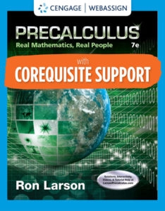 Test Bank ( Complete Download ) for Precalculus: Real Mathematics, Real People   7th Edition   Ron Larson