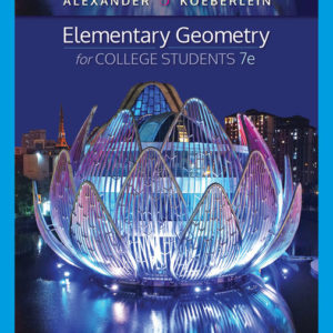 Test Bank ( Download only ) for Elementary Geometry for College Students | 7th Edition | Daniel C. Alexander | Geralyn M. Koeberlein
