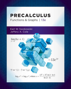 Test Bank ( Complete Download ) for Precalculus: Functions and Graphs | 13th Edition | Earl Swokowski | Jeffery Cole