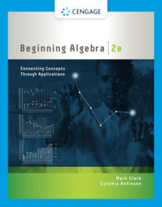 Test Bank ( Complete Download ) for Beginning Algebra: Connecting Concepts through Applications | 2nd Edition | Mark Clark | Cynthia Anfinson