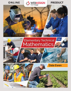 Test Bank ( Complete Download ) for Elementary Technical Mathematics | 12th Edition | Dale Ewen