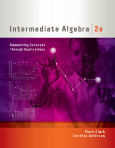 Test Bank ( Complete Download ) for Intermediate Algebra: Connecting Concepts through Applications | 2nd Edition | Mark Clark | Cynthia Anfinson