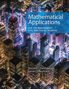 Test Bank (Complete Download ) for Mathematical Applications for the Management, Life, and Social Sciences | 12th Edition | Ronald J. Harshbarger | James J. Reynolds