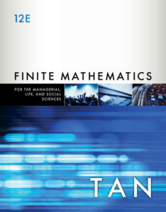 Test Bank ( Complete Download ) for Finite Mathematics for the Managerial, Life, and Social Sciences   12th Edition   Soo T. Tan