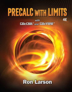 Test Bank (Complete Download ) for Precalculus with Limits | 4th Edition | Ron Larson