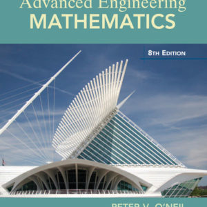 Solution Manual (Download only )for Advanced Engineering Mathematics   8th Edition   Peter V. O'Neil
