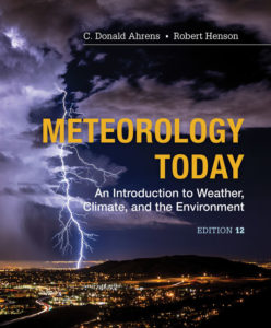 Test Bank (Complete Download) for Meteorology Today: An Introduction to Weather, Climate and the Environment | 12th Edition | C. Donald Ahrens | Robert Henson