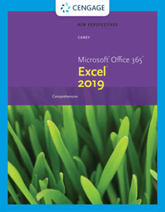 Test Bank (Download only ) for New Perspectives Microsoft® Office 365® & Excel 2019 Comprehensive | 1st Edition | Patrick Carey | ISBN-10: 0357026209 | ISBN-13: 9780357026205