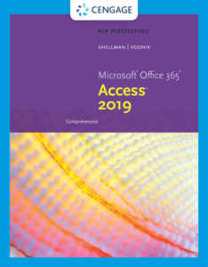 Solution Manual (Complete Download)for New Perspectives Microsoft® Office 365 & Access 2019 Comprehensive   1st Edition   Mark Shellman   Sasha Vodnik