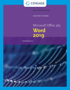 Test Bank (Complete Download) for New Perspectives Microsoft® Office 365 & Word 2019 Comprehensive | 1st Edition | Ann Shaffer | Katherine T. Pinard