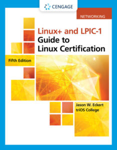 Test Bank (Complete Download) for Linux+ and LPIC-1 Guide to Linux Certification | 5th Edition | Jason Eckert