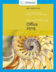 Test Bank (Complete Download) for New Perspectives Microsoft® Office 365 & Office 2019 Introductory | 1st Edition | Patrick Carey, Katherine T. Pinard | Ann Shaffer | Mark Shellman | Sasha Vodnik