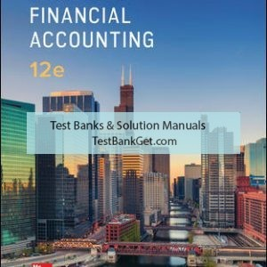 Solution Manual ( Complete Download ) for Advanced Financial Accounting   12th Edition   Theodore Christensen   David Cottrell   Cassy Budd   ISBN 10: 1259916979   ISBN 13: 9781259916977
