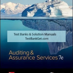 Solution Manual ( Complete Download ) for Auditing & Assurance Services   7th Edition   Timothy Louwers   Allen Blay   David Sinason   Jerry Strawser   Jay Thibodeau   ISBN 10: 1259573281   ISBN 13: 9781259573286