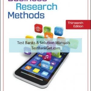 Solution Manual ( Complete Download ) for Business Research Methods | 13th Edition | Pamela Schindler | ISBN 10: 1259918939 | ISBN 13: 9781259918933